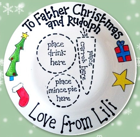 to see lots more photos and sample plates have a look at our facebook page here 12500 facebook fans cant be wrong - Christmas Plates